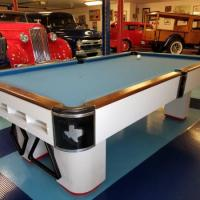 8' Pool Table Retro Refinished