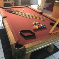 Pool Table with Accessories(SOLD)