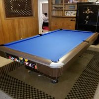 Vintage Top Line Regulation Size Billiard Table in Mint Condition